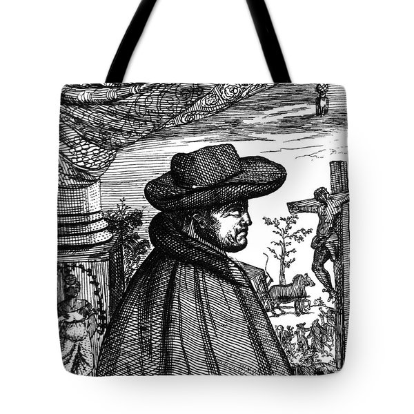 Frère Jacques Beaulieu, French Tote Bag by Science Source
