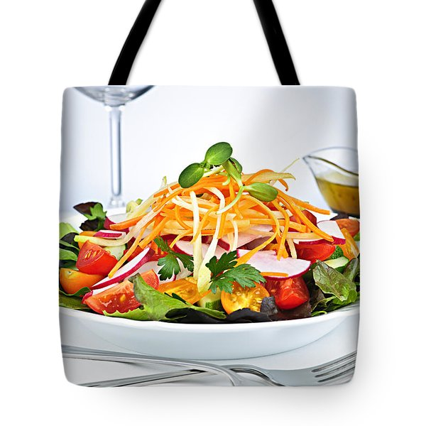 Garden Salad Tote Bag