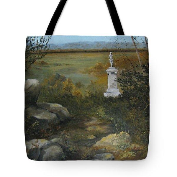 Gettysburg Monument Tote Bag
