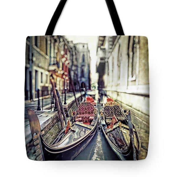 Gondolas Tote Bag by Joana Kruse