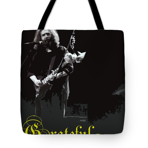 Tote Bag featuring the photograph Grateful Dead  by Susan Carella
