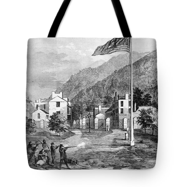 Harpers Ferry Insurrection, 1859 Tote Bag by Photo Researchers