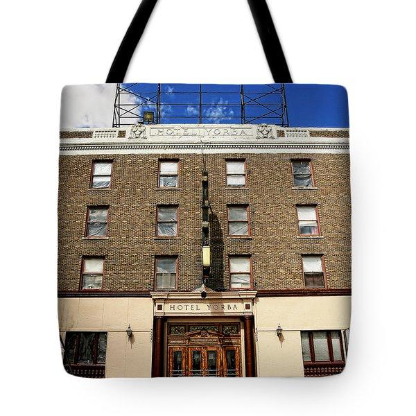 Hotel Yorba Tote Bag by Gordon Dean II