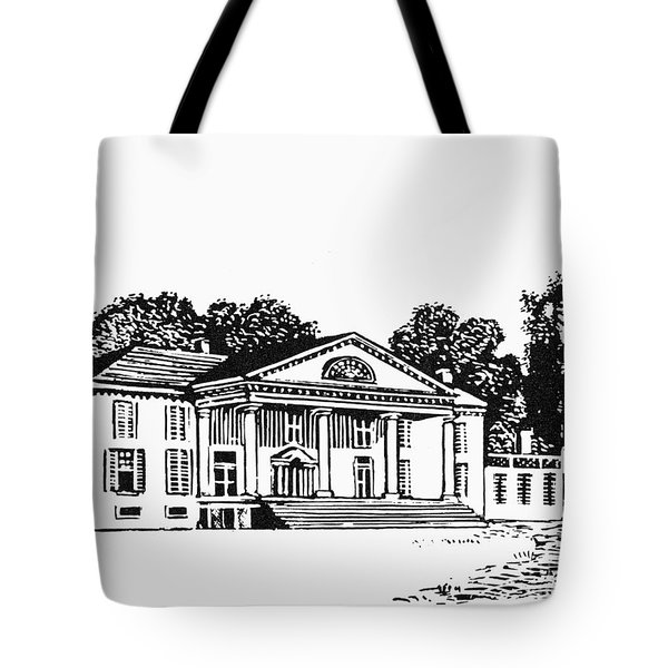 James Madison: Montpelier Tote Bag by Granger
