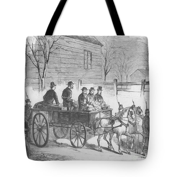 John Brown, American Abolitionist Tote Bag by Photo Researchers