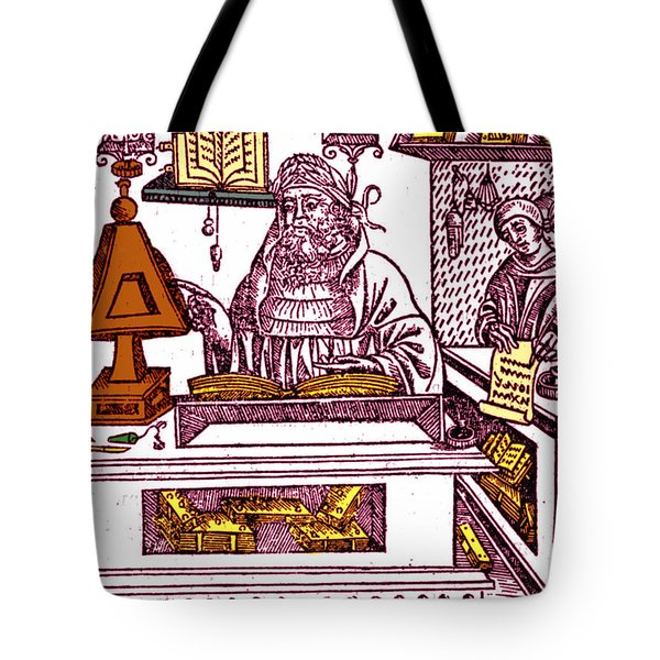 John Peckham, Anglican Theologian Tote Bag by Science Source