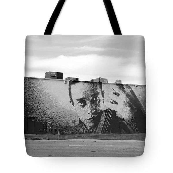 Johnny Cash Tote Bag by Rob Hans