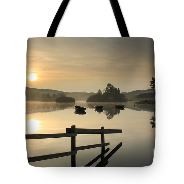 Knapps Loch Sunrise Tote Bag