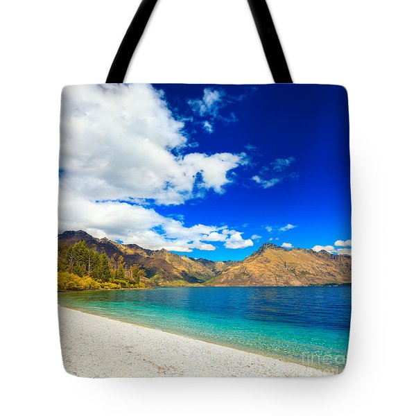 Lake Wakatipu Tote Bag by MotHaiBaPhoto Prints