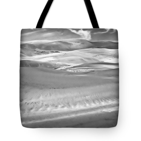 Land Meets Sky Tote Bag