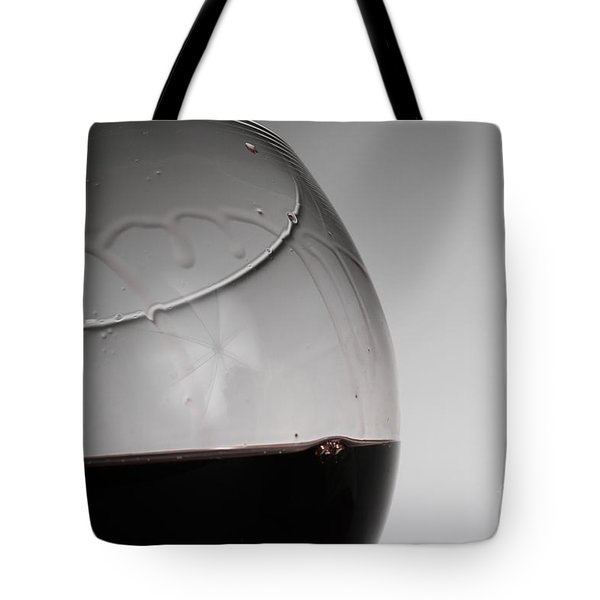 Legs Of Wine Tote Bag by Photo Researchers, Inc.