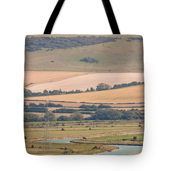 Lewes East Sussex Tote Bag by Dawn OConnor