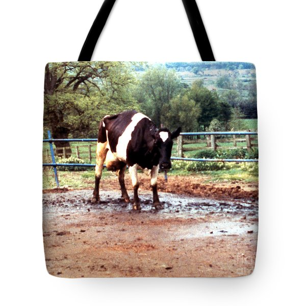 Mad Cow Disease Tote Bag by Science Source