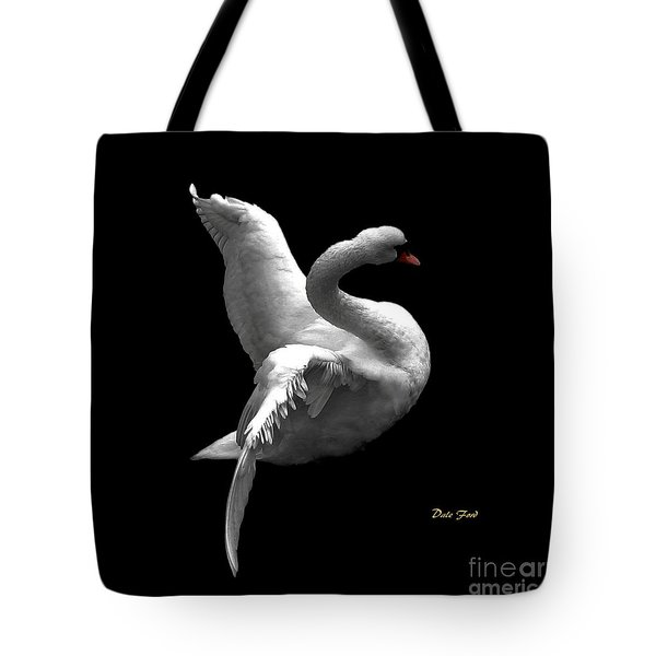 Majestic Swan 2 Tote Bag by Dale   Ford
