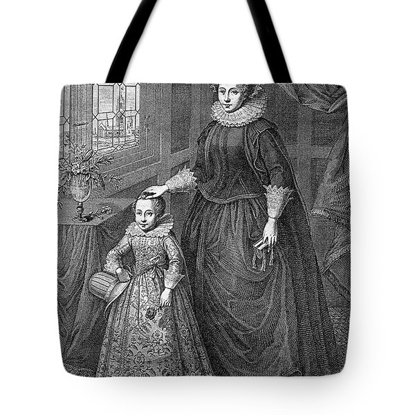 Mary, Queen Of Scots Tote Bag by Granger
