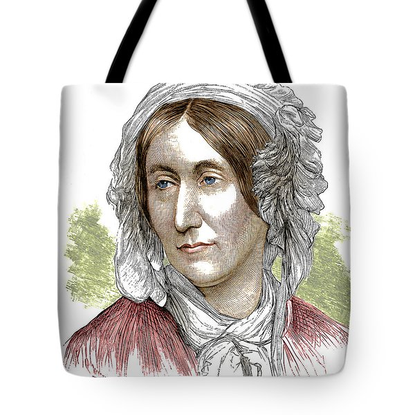 Mary Somerville, Scottish Polymath Tote Bag by Science Source