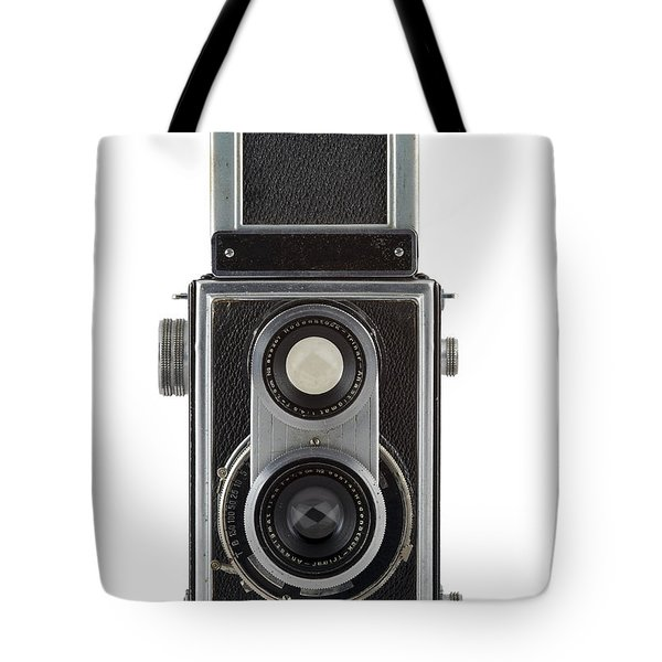 Old Camera Tote Bag by Michal Boubin