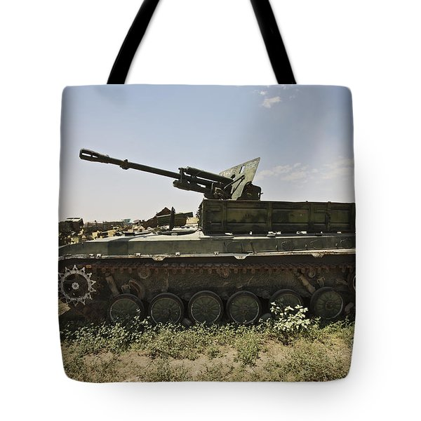 Old Russian Bmp-1 Infantry Fighting Tote Bag by Terry Moore