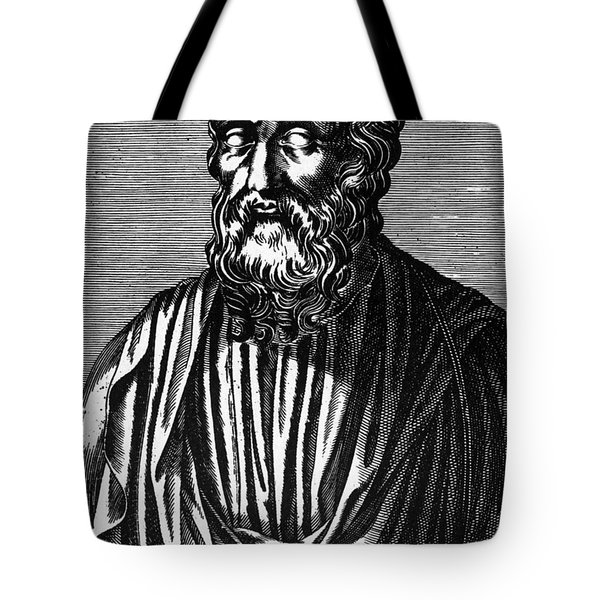 Plato, Ancient Greek Philosopher Tote Bag by Science Source