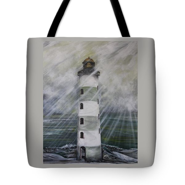 Point Lookout Lighthouse Tote Bag