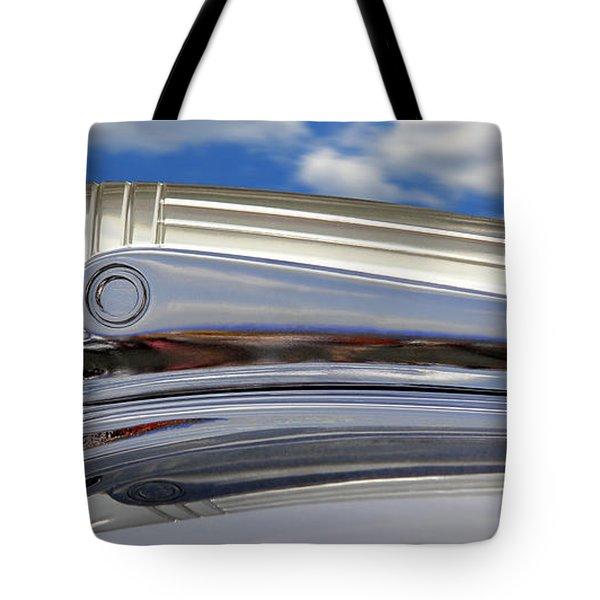Pontiac Hood Ornament Tote Bag by Mike McGlothlen