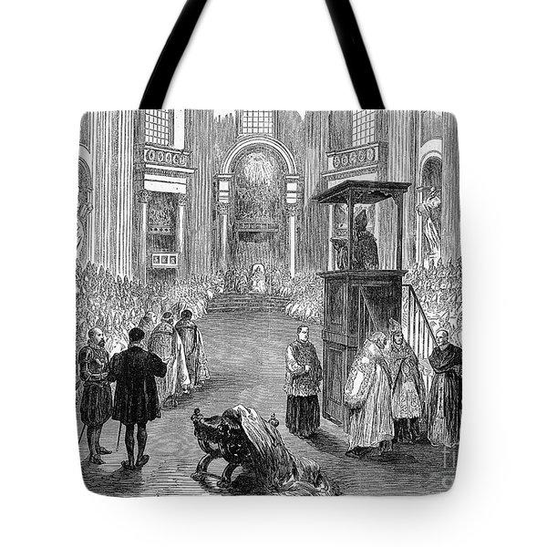 Pope Pius Ix (1792-1878) Tote Bag by Granger