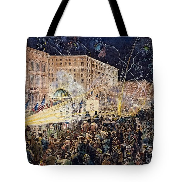 Presidential Campaign: 1876 Tote Bag by Granger