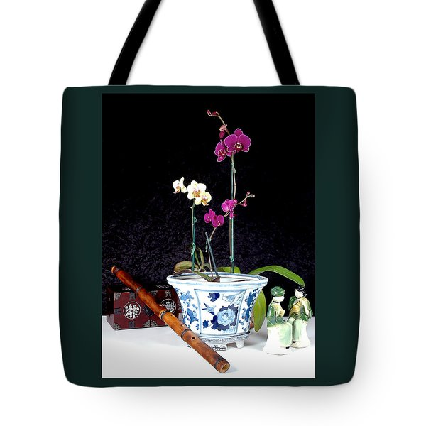 Tote Bag featuring the photograph Rendezvous by Elf Evans