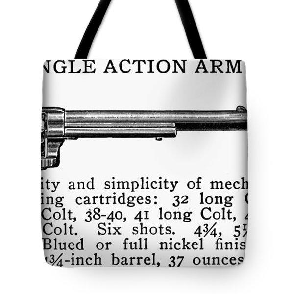 Revolver, 19th Century Tote Bag by Granger