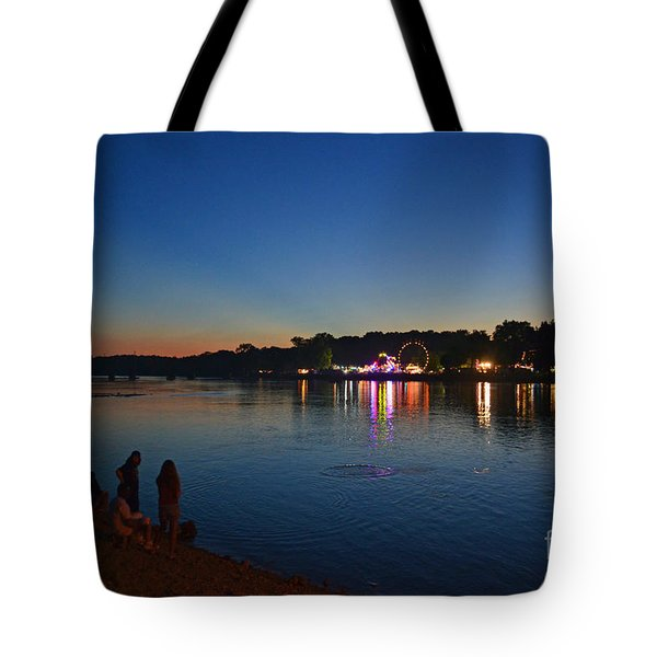 Riverview Tote Bag by Sue Stefanowicz