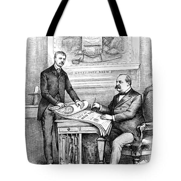 Roosevelt Cartoon, 1884 Tote Bag by Granger