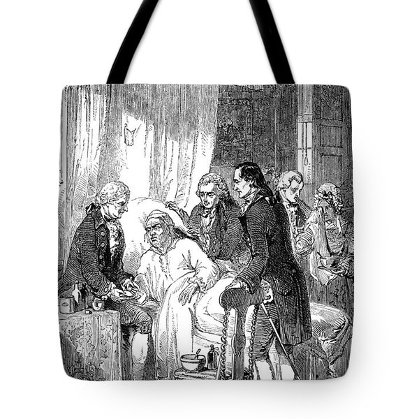 Samuel Johnson (1709-1784) Tote Bag by Granger