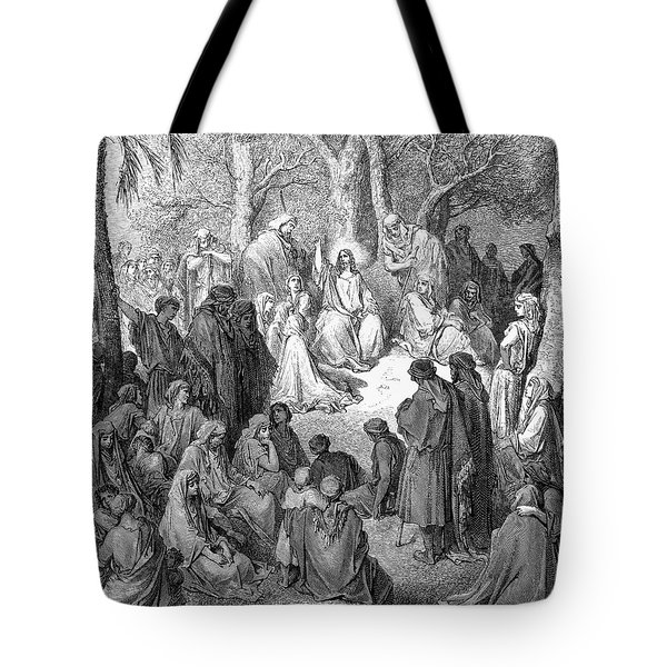 Sermon On The Mount Tote Bag by Granger