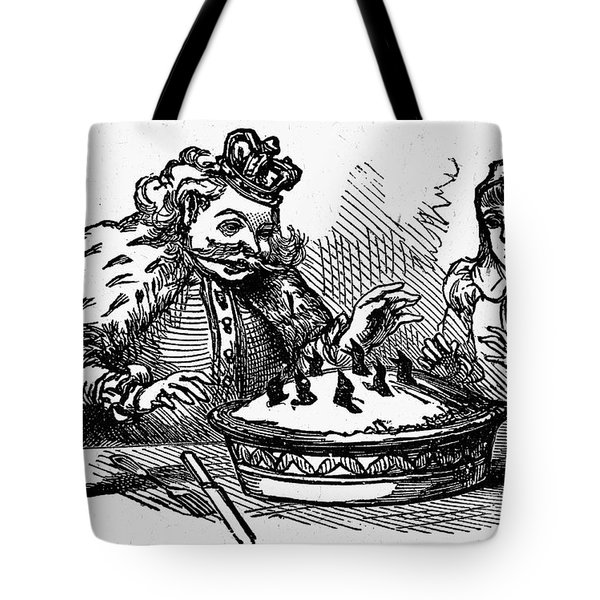 Sing A Song Of Sixpence Tote Bag by Granger