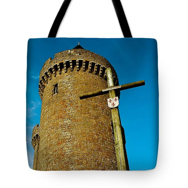 Solidor And Cross Tote Bag