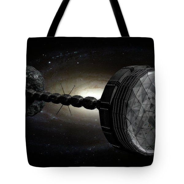 Starship Inspired By The Novels Tote Bag by Rhys Taylor
