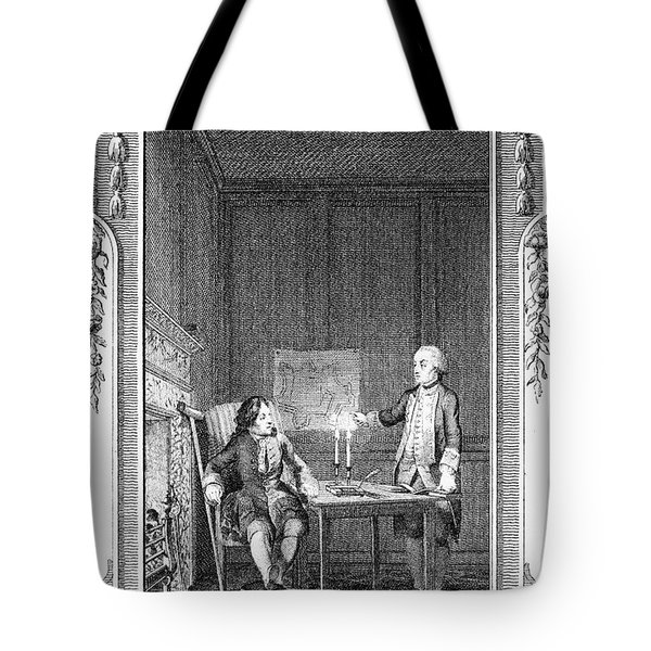Sterne: Tristram Shandy Tote Bag by Granger