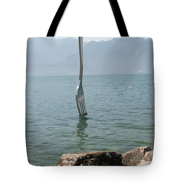 Symbol Tote Bag by Evgeny Pisarev