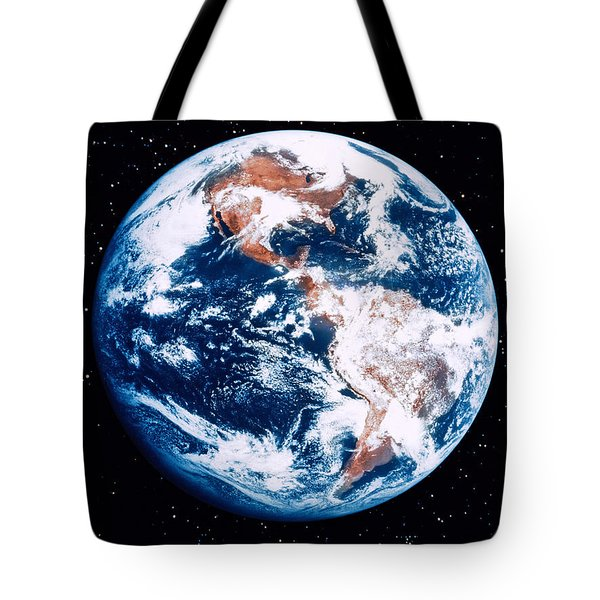 The Earth Tote Bag by Stocktrek Images
