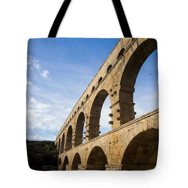 The Famous Pont Du Gare In France Tote Bag by Taylor S. Kennedy