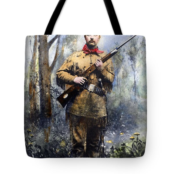 Theodore Roosevelt Tote Bag by Granger
