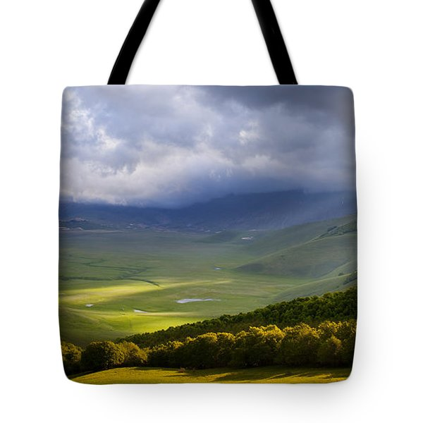 Umbria Tote Bag by Brian Jannsen