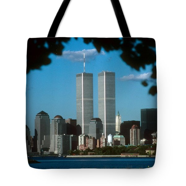 View From Liberty State Park Tote Bag