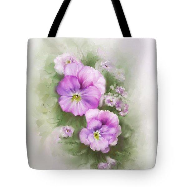 Viola Tote Bag by Bonnie Willis