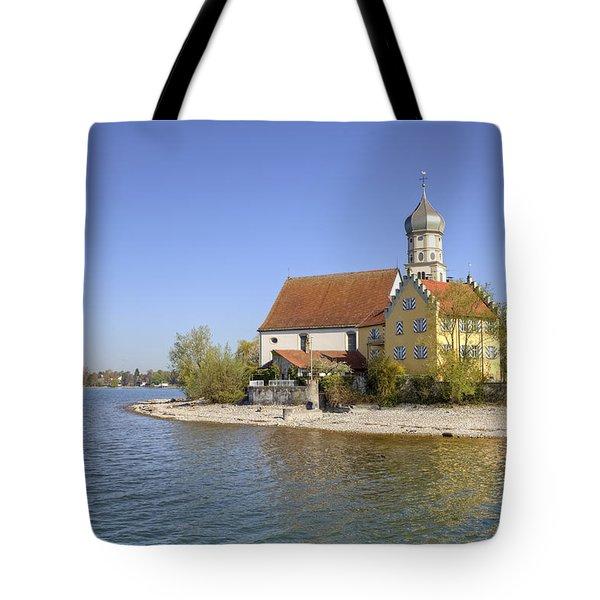 Wasserburg Tote Bag by Joana Kruse