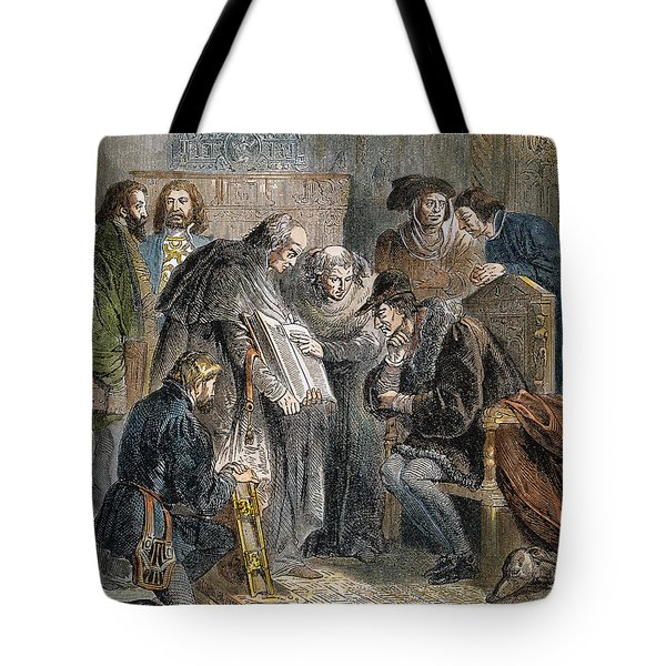 William Tyndale (1492?-1536) Tote Bag by Granger