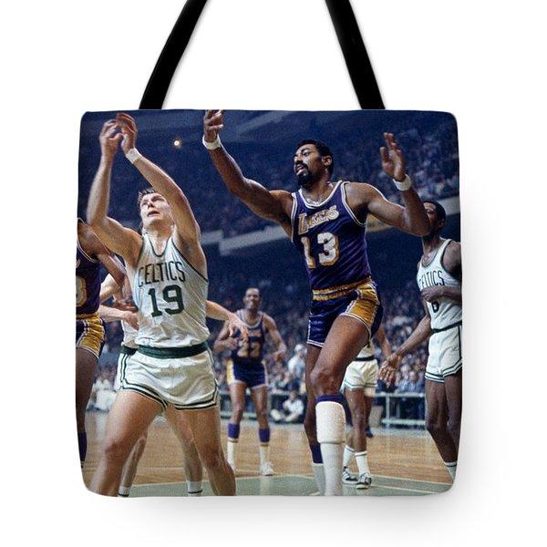 Wilt Chamberlain (1936-1999) Tote Bag by Granger