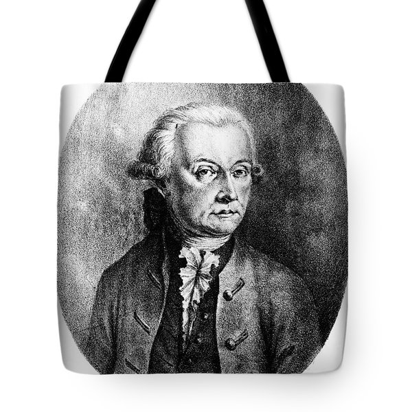 Wolfgang Amadeus Mozart, Austrian Tote Bag by Photo Researchers, Inc.