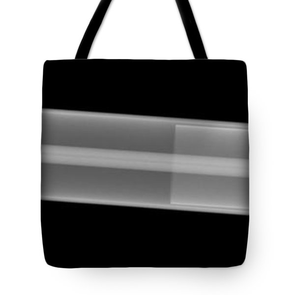 X-ray Of A Laser Tube Tote Bag by Ted Kinsman