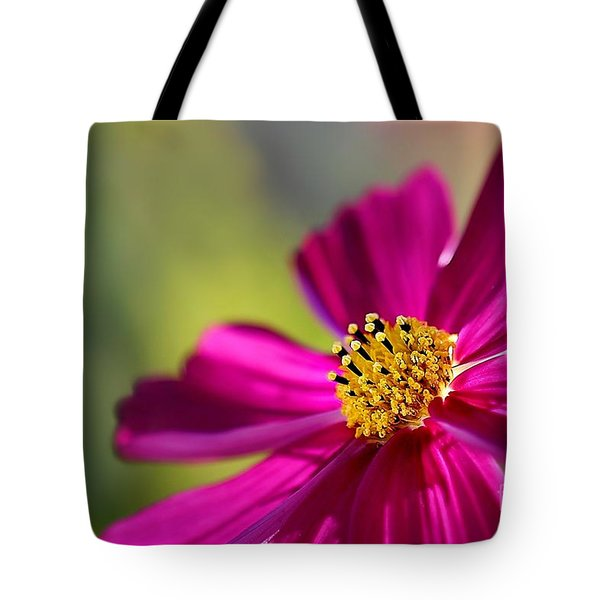Tote Bag featuring the photograph Yellow Dots by Henrik Lehnerer